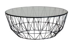 Black Wire Coffee Tables