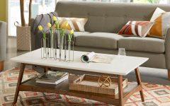 Madison Park Avalon White Pecan Coffee Tables