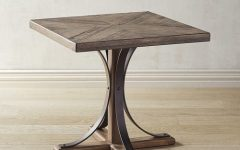 Magnolia Home Shop Floor Dining Tables With Iron Trestle