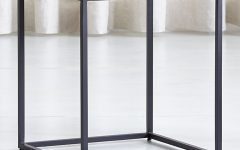 Mix Patina Metal Frame Console Tables