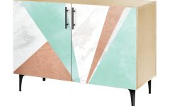 Bright Angles Credenzas