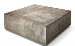 Square Coffee Table Modern