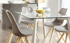 Glass 6 Seater Dining Tables
