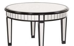 Round Mirrored Coffee Tables