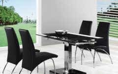 Small Extending Dining Tables And 4 Chairs