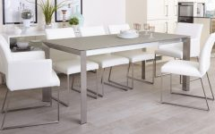 Grey Glass Dining Tables