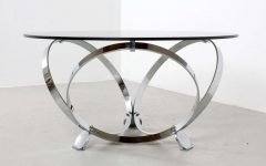 Round Chrome Coffee Tables