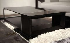 Dark Glass Coffee Tables