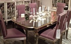 Antique Mirror Dining Tables