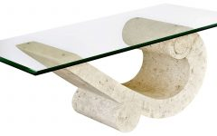 Stone and Glass Coffee Tables