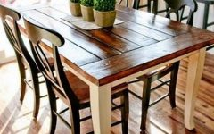 Dining Tables With White Legs