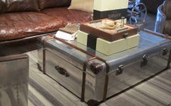 Silver Trunk Coffee Tables