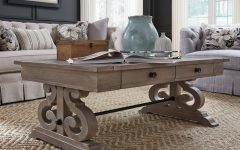 Tinley Park Traditional Dove Tail Grey Coffee Tables