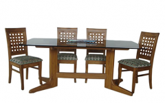 Wooden Glass Dining Tables
