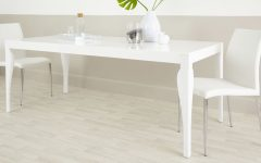 8 Seater White Dining Tables