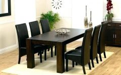 Dark Wooden Dining Tables