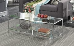 Silver Orchid Price Glass Coffee Tables