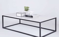 White and Black Coffee Tables