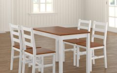 Yedinak 5 Piece Solid Wood Dining Sets