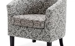 Munson Linen Barrel Chairs