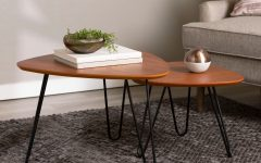Carson Carrington Arendal Guitar Pick Nesting Coffee Tables