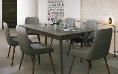 Helms 6 Piece Rectangle Dining Sets With Side Chairs