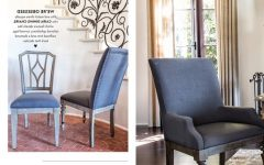Caira Black Upholstered Diamond Back Side Chairs