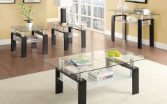 Occasional Contemporary Black Coffee Tables