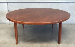 Round Teak Coffee Tables