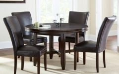 Caden 5 Piece Round Dining Sets