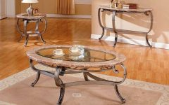 Marble And Glass Coffee Table