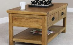 Rustic Coffee Table Drawers