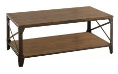Carbon Loft Fischer Brown Solid Birch and Iron Rustic Coffee Tables