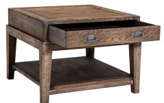 Smoked Oak Side Tables