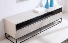 Cream High Gloss Tv Cabinets
