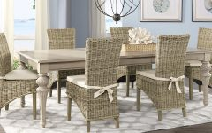 Rattan Dining Tables and Chairs