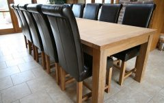 Extending Dining Tables with 14 Seats