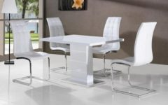 Gloss Dining Tables And Chairs