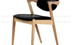 Oak Leather Dining Chairs