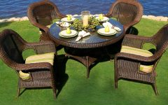 Outdoor Tortuga Dining Tables