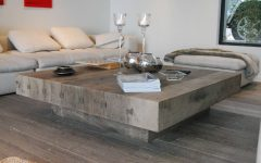 Large Low Coffee Tables