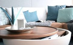 Circular Coffee Tables With Storage