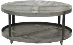 Round Metal Coffee Tables