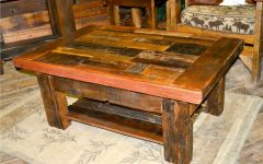 Rustic Barnwood Coffee Tables