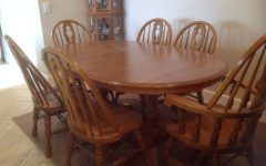 Second Hand Oak Dining Chairs