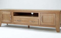Large Oak Tv Cabinets
