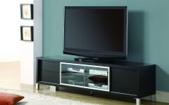 Solid Wood Black Tv Stands