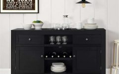 Black Sideboards Cabinets