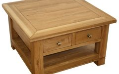 Small Coffee Tables with Drawer
