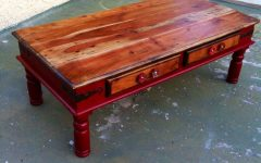 Red Coffee Tables